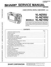 Buy Sharp VLNZ80401 Service Manual by download Mauritron #211257