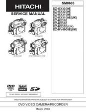 Buy Hitachi DZ-BX37E Service Manual by download Mauritron #261846