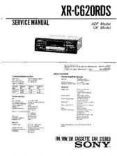 Buy Sony XR-C620RDS Service Manual by download Mauritron #233519