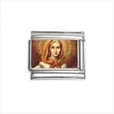 Buy St Dymphna Patron Saint 9mm Italian Charm