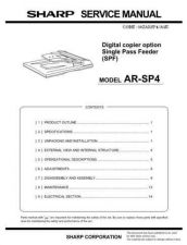 Buy Sharp ARSP4SM Manual by download Mauritron #212050