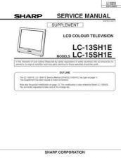 Buy Sharp LC13B2E (1) Service Manual by download Mauritron #209798
