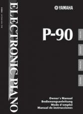 Buy Yamaha P90E Operating Guide by download Mauritron #249105