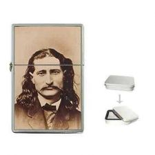 Buy Wild Bill Hickok Western Folk Hero Cigarette Flip Top Lighter