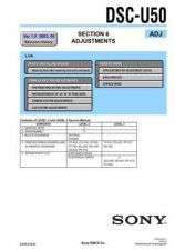 Buy Sony DSC-U60.. Service Manual by download Mauritron #240365
