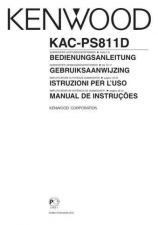 Buy Kenwood KAC-PS811D by download Mauritron #221406