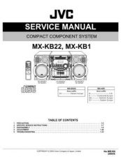 Buy JVC MX-KB25 Service Manual Schematic Circuit. by download Mauritron #272036