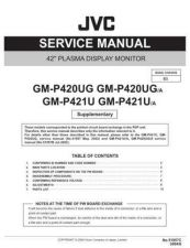 Buy JVC GM-P420UG GM-P420UG-A Service Manual Schematic Circuit. by download Mauritron #27