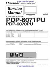 Buy Pioneer PDP-43MXE1-S-TAXQ[2] by download Mauritron #235129