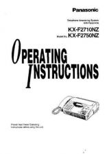Buy Panasonic KXFC231 Operating Instruction Book by download Mauritron #236022