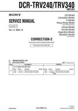 Buy Sony DCR-TRV738ETRV740 TRV740ETRV840. Service Manual by download Mauritron #239