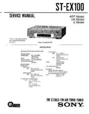 Buy Sony ST-EX77 Service Manual. by download Mauritron #244974
