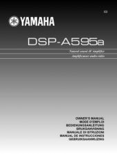 Buy Yamaha DSP-A3090GUIDE Operating Guide by download Mauritron #247580