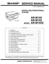 Buy Sharp ARM160-205 Service Manual by download Mauritron #208310