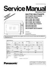 Buy Panasonic NN-T975SF Service Manual by download Mauritron #268266