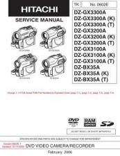 Buy Hitachi DZMV230E-2 Service Manual by download Mauritron #261896