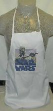 Buy NEW RARE VINTAGE HAND MADE STAR WARS 70'S IRON ON SAND PEOPLE APRON