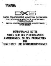 Buy Yamaha DX5E2 Operating Guide by download Mauritron #247725