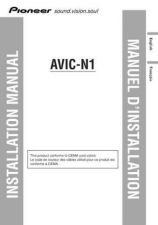 Buy Pioneer 114963619 Installation MANUAL AVIC-N1 by download Mauritron #223214