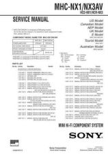 Buy Sony MHC-R550-RXD5 Service Manual. by download Mauritron #242902