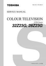 Buy TOSHIBA 32Z17SCM Service Information by download #114000
