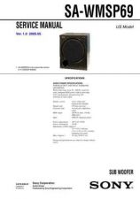 Buy Sony SA-WM40-2 Technical Manual. by download Mauritron #243784