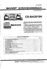Buy Sharp CDBA3100H SM DE(1) Service Manual by download Mauritron #208431