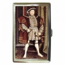 Buy King Henry VIII Holbein Art Cigarette Money Card Case