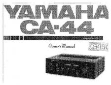 Buy Yamaha CA-44 Operating Guide by download Mauritron #246927