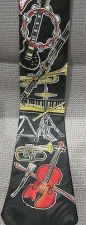 Buy MUSIC Themed Neck Tie Men's EXCELLENT by A. Rogers Christmas gift!