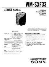 Buy Sony wm-sxf30 Service Manual. by download Mauritron #245879