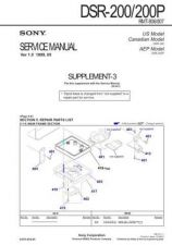 Buy Sony DSR-25 Service Manual by download Mauritron #240410