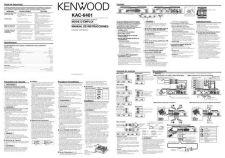 Buy Kenwood KAC-6401 by download Mauritron #221321