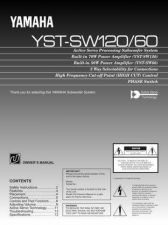 Buy Yamaha YST-SW515 EN UB REV-1 Operating Guide by download Mauritron #250435