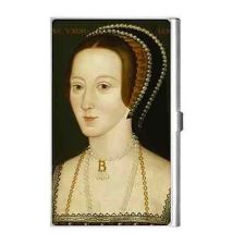 Buy Queen Anne Boleyn Royalty Art Business Credit Card Holder