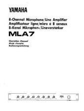 Buy Yamaha MLA7E Operating Guide by download Mauritron #248728