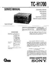 Buy Sony TCD-D10PROii..... Service Manual. by download Mauritron #245352