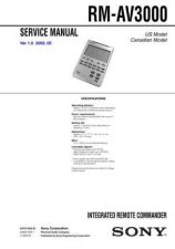 Buy Sony RM-VD1 Technical Information by download Mauritron #235819