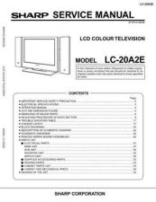 Buy Sharp LC20A2E PG GB(1) Service Manual by download Mauritron #209871