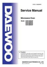 Buy Daewoo R63BGH0P01(r) Manual by download Mauritron #226483