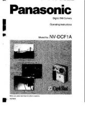 Buy Panasonic NVDCF1A Operating Instruction Book by download Mauritron #236183