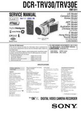 Buy Sony DCR-TRV900 RG Service Manual by download Mauritron #239923
