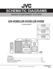 Buy JVC UX-H33 Service Manual by download Mauritron #220770