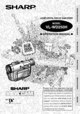 Buy Sharp VLWD250233 Service Manual by download Mauritron #211379