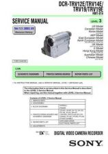 Buy Sony DCR-TRV250 RMT-814 Technical Information by download Mauritron #235519
