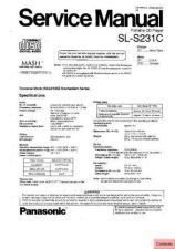 Buy Panasonic sl_sw205405415_ppc Service Manual by download Mauritron #268853