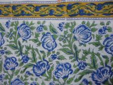 Buy 5 yard Indian Hand Made pure cotton fabric hand block printed natural fabrics