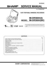 Buy Sharp IMDR580H Service Manual by download Mauritron #209743