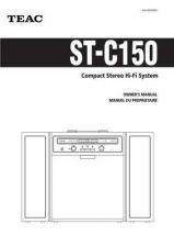 Buy Teac ST-C150(EF) Service Manual by download Mauritron #223942