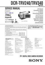 Buy Sony DCR-TRV738ETRV740 TRV740ETRV840... (11) Service Manual by download Mauritr